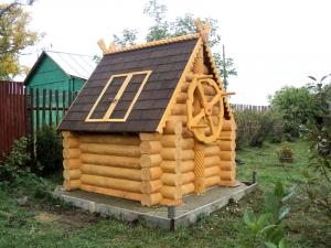 Домик для колодца в Клину
